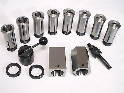 New List Special, 5C Collet Blocks Chuck and 5C Collet Set