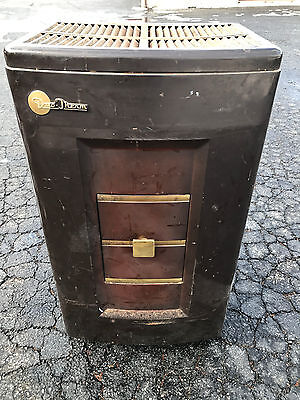 Antique Art Deco DUO-THERM Oil Burning Stove Model 624-2