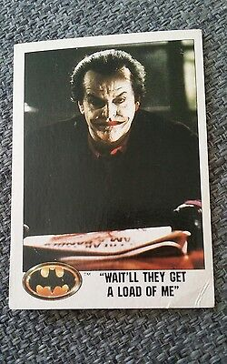 Topps Batman Picture Card Series 1989 - #44