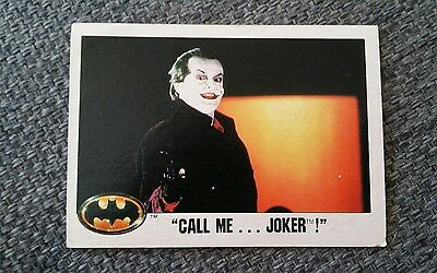 Topps Batman Picture Card Series 1989 - #42