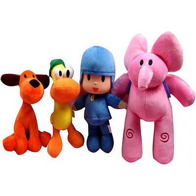 Pocoyo Elly Pato Loula Plush Character Figures Stuffed Toys Doll Baby Kids Gift