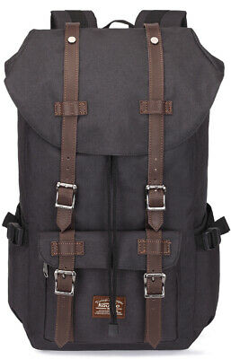 Casual Laptop Rucksack School Daypack Travel Hiking Capacity Backpack by Kaukko