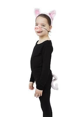 FANCY DRESS Pig Set (Ears, Tail + Nose)