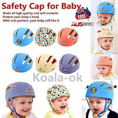 Baby Safety Helmets Cotton Infant Protective Hat Headguard Crashproof Hat Lot TF