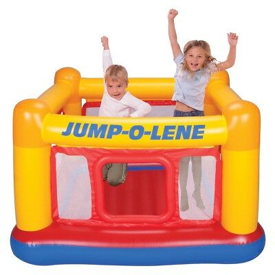 INTEX Inflatable Playhouse Jumping Castle Trampoline Jump-O-Lene (#48260)