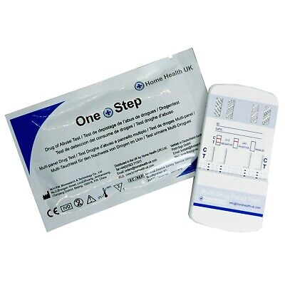 Drug Testing Kit 5 x 7in1 Panel Test For Home Or Workplace Screening - One Step®