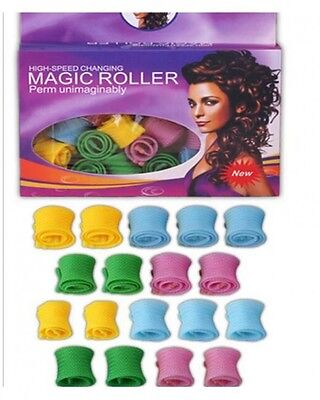 Lot De 18 Magic Magique Bigoudis Levarag 1 Broche - Neuf Court Roller H