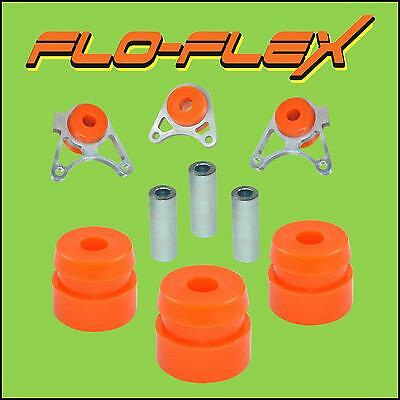 Freelander Rear Diff Mount Bushes Centre (3 off) in Poly