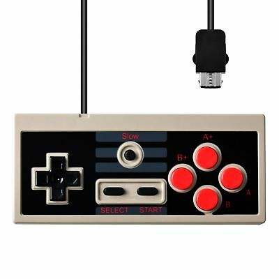 Slow Motion Wired Controller For Nintendo Mini NES Classic Console Gamepad