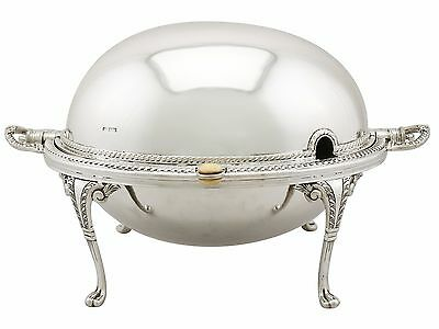 Sterling Silver Breakfast Dish - Antique Edwardian