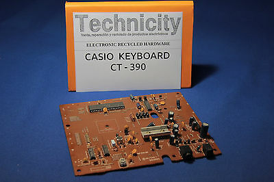 Casio Keyboard - Ct -390 - Motherboard / Mainboard  - Placa Principal  - Tested