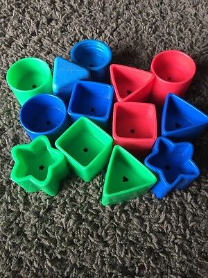 Shape Sorter Replacement Shapes Learning Toy Blocks
