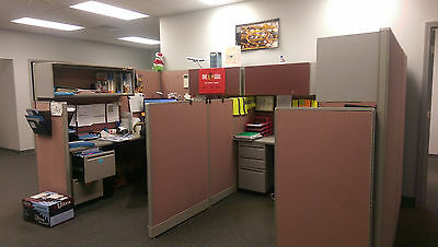 7 unique used Cubicles for sale, Hayworth Petitions Furniture LOCAL PICKUP ONLY