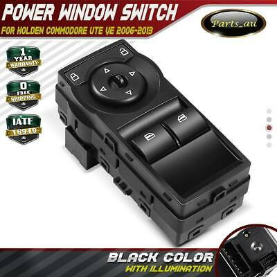 Master Window Switch for Holden Commodore Ute VE With Red Illumination 2 buttons