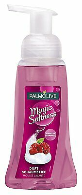 (3 x 250 ml)  Palmolive Magic Softness  Duftschaumseife Himbeere