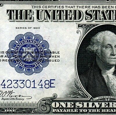 1923 $1 Silver Certificate (( Woods-White )) Uncirculated A42330148E