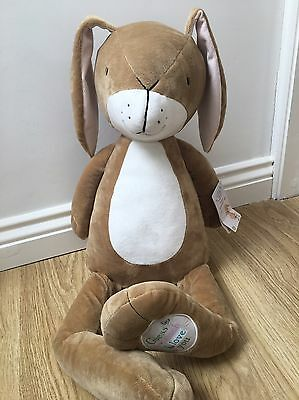 GUESS HOW MUCH I LOVE YOU GIANT NUTBROWN HARE SOFT PLUSH TOY Brand New