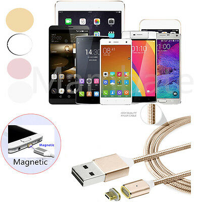2.4 A Micro USB Type-C Fast Charging Cable Magnetic Charger for Android Samsung