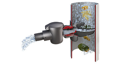 Rainwater Harvesting Self Cleaning Water Butt downpipe connector - speed fit