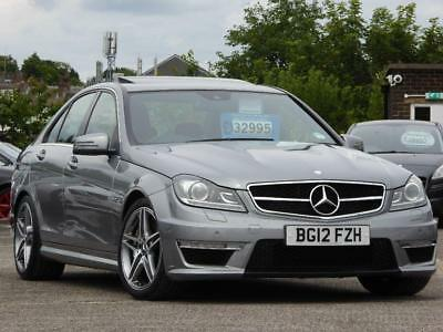 2012 Mercedes-Benz C Class 6.3 C63 AMG MCT 7S 4-MATIC 4dr