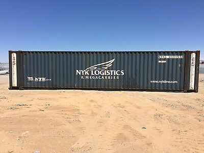 45' High cube cargo shipping storage containers conex boxes / Dallas, TX