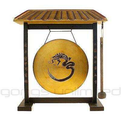 Protective Dragon Feng Shui Gong and Mallet