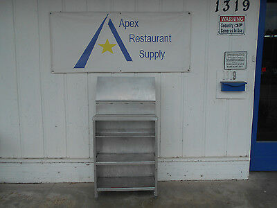 Aluminum Shelving Unit #2112