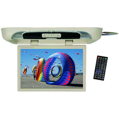 """TVIEW T20DVFDTAN  Tview 20"""" Flip down Monitor with built in DVD Player Tan"""