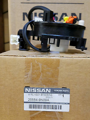 New Genuine Nissan Maxima Clockspring Steering Wire Assy 2009-2014  25554-9N09A