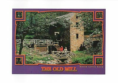 """Arkansas Postcard The Old Mill Opening Scene Of """"gone With The Wind"""" Lot Of 50"""
