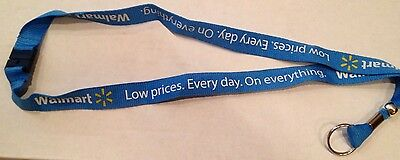 Walmart Lanyard Lite Blue Low Price Everything With Safety Break Away Snap Wml-5