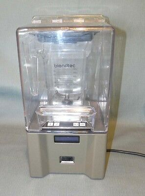 Blendtec ICB3 Commercial Blender Smoother w/ Shield, Pitcher, & Lid