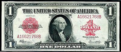 1923 $1 US Note **Gem Uncirculated** (( Red Seal )) A16621768A