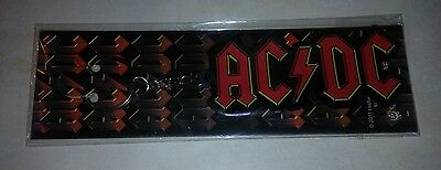AC/DC Rubber Keychain C&D Visionary Rock n Roll Licensed Memorabilia New in Pack