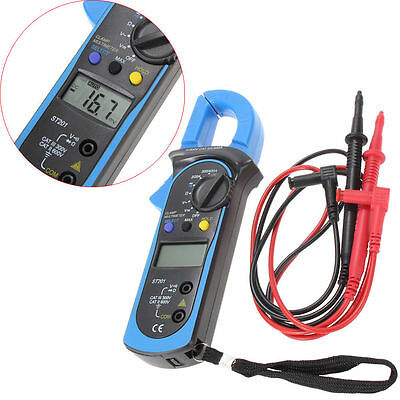 Digital Clamp Multimeter OHM Amp Meter AC/DC Current Voltage Resistance Tester C