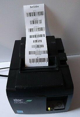 Star Micronics TSP100II ECO futurePRNT Point of Sale Thermal Printer Tested