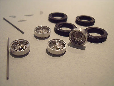 4  Roues  Rayons  Droits  Bugatti   Type  57  Tank  Et  Type  59    Vroom  1/43
