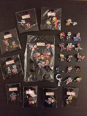 SDCC 2016 Marvel Complete Skottie Young 28 Pin Set w/ Yellow Daredevil Incentive