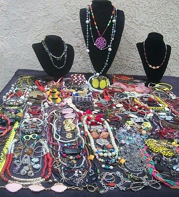 Huge Lot Of Vintage/now Costume Jewelry All Wearable Big Variety Nice 182 Pieces
