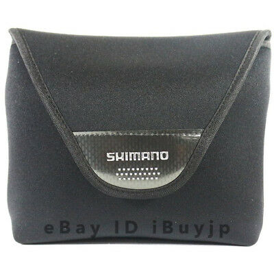 Shimano Large Spinning Reel Soft Case PC-031L (L) Black (#5000~30000) 785817