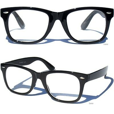 Men Women Reading Glasses Retro Classic Wayfarer Style Readers Black Frame
