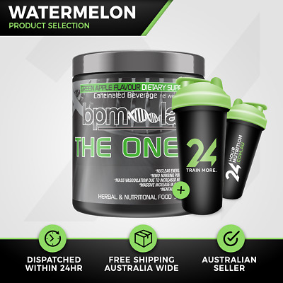 BPM Labs The One Black Label | 30 Serves Watermelon | Pre Workout | Free Gift!