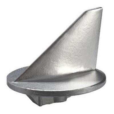 Tecnoseal Trim Tab Anode Zinc Short Mercury 50HP - Weight: 1.06lbs