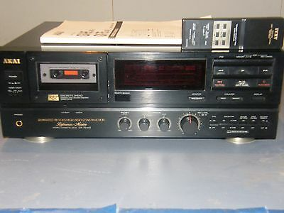 AKAI-Reference-Master-GX-75Mk2, 3-Head-Cassette-Deck-Japan-1991, PERFECT!