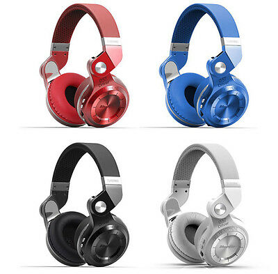 BLUEDIO T2+ Over-ear Wireless Bluetooth 4.1 Stereo Headphone Headset with Mic