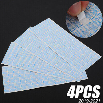 600X 2019-2021 Warranty Void Damaged Protection Security Labels Sticker Seal