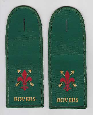 United Kingdom / British Resa Scouts - Rover Scout (Rs) Epaulettes Patch (Pair)