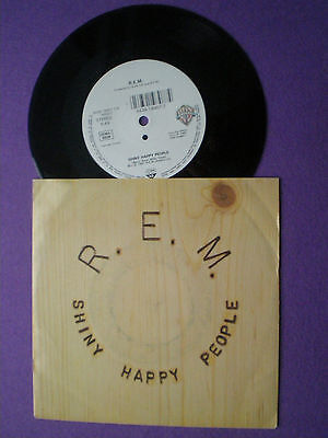 REM  Shiny Happy People EU/GERMANY 45 1991 R.E.M.