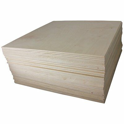 "Woodpeckers Baltic Birch Plywood 8 Flat Sheets 5 mm 1/4"" X 12"" X 12"" B/BB Grade"