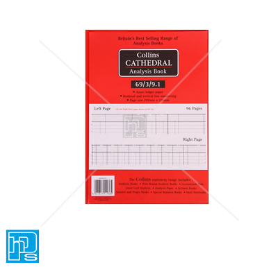 Collins Cathedral Analysis Account Book 69 Series
